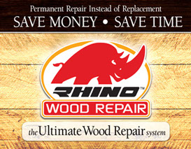 Rhino wood repair the ultimate wood repair system Waterloo Ontario