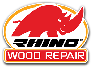 Rhino Wood Repair Surface preparation Application of liquids application of putty bio-treat finishing